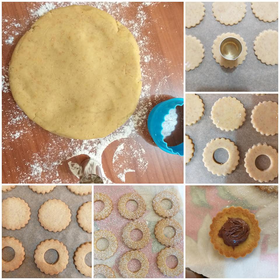 impasto biscotto occhidibue integrale ripieno