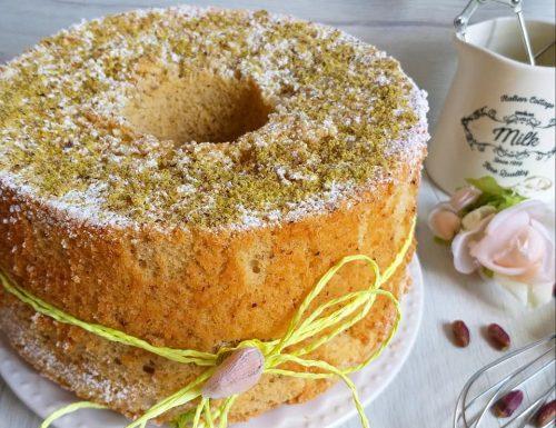 TORTA CHIFFON CAKE AL PISTACCHIO dolce soffice