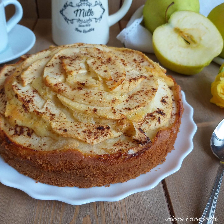 torta di mele e cannella dolce soffice