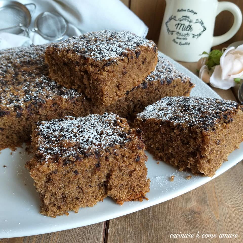 torta dolce al caffe' ricetta facile