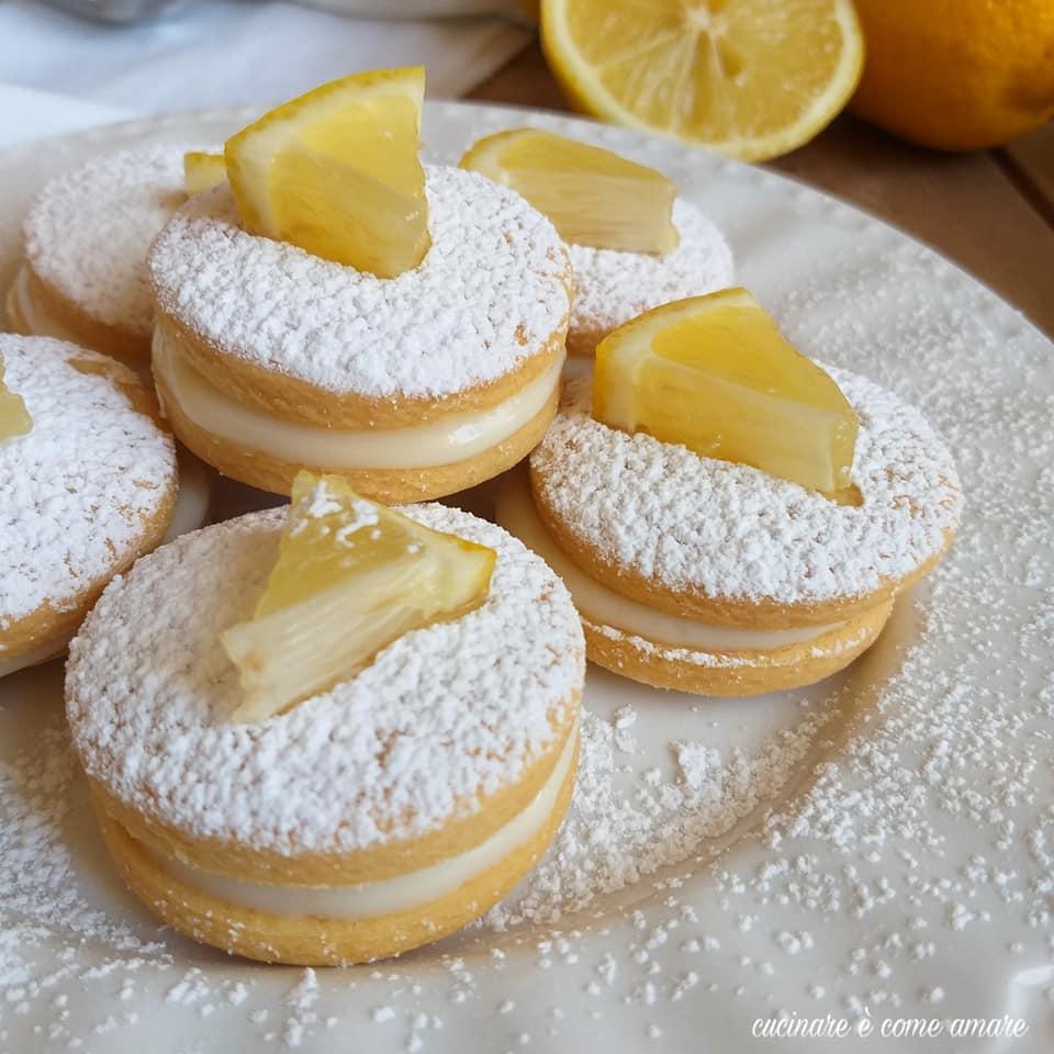 biscotto delizia al limone ripieno