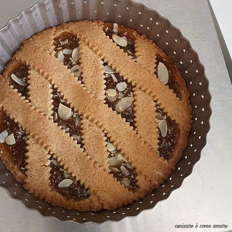 dolce crostata settembrina ripieno marmellata