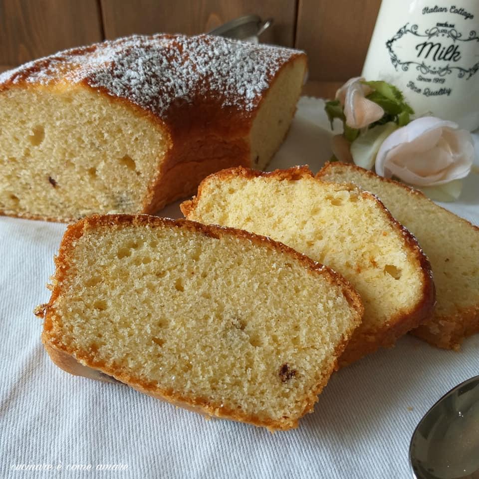 torta ciambella della nonna dolce genuino