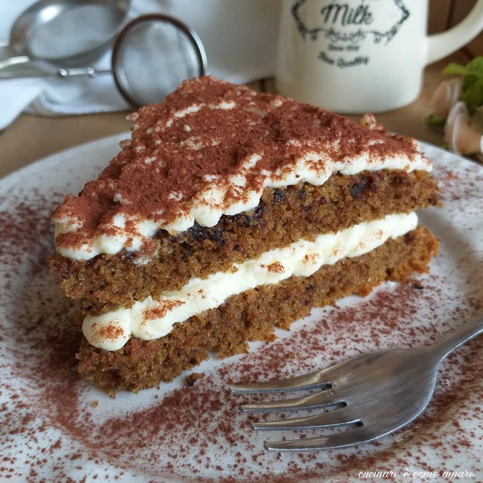 torta dolce tiramisu' ripiena caffe' mascarpone