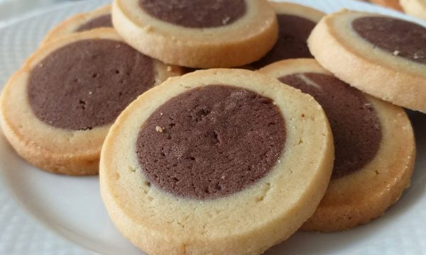 BISCOTTO AL BURRO DOPPIA FROLLA con cacao