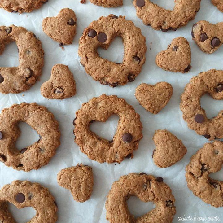 biscotto rusticotto integrale con cioccolato
