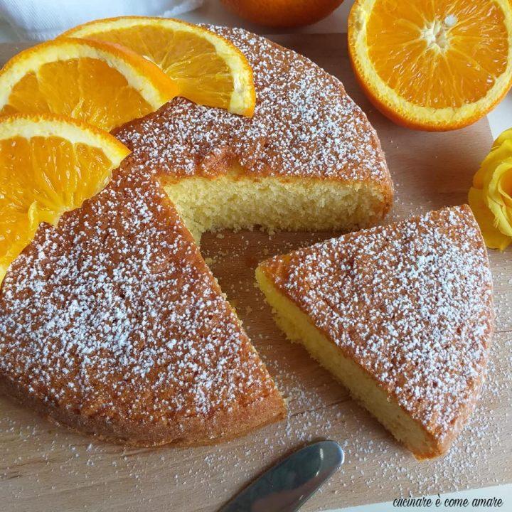 torta 12 cucchiai all'arancia dolce facile