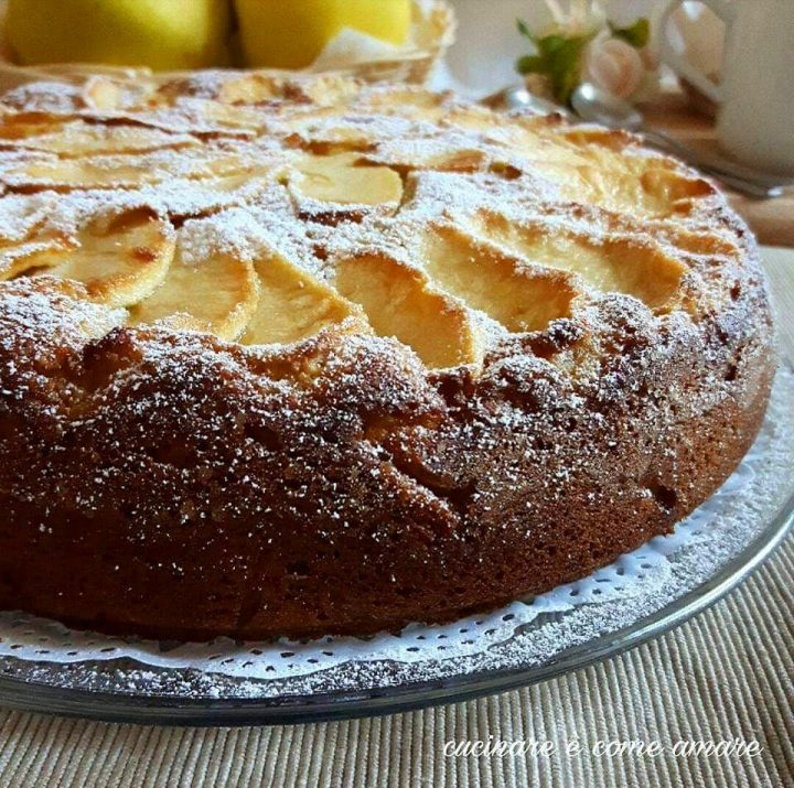 torta perfetta alle mele dolce soffice
