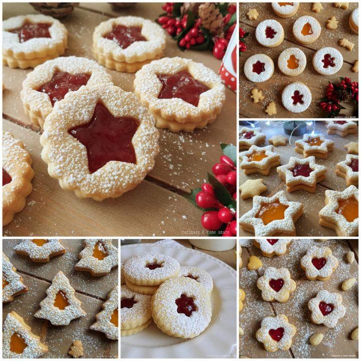 Dolci Di Natale Biscotti.Biscotti Alla Marmellata Impasto Dolce Di Natale Cucinare E Come Amare