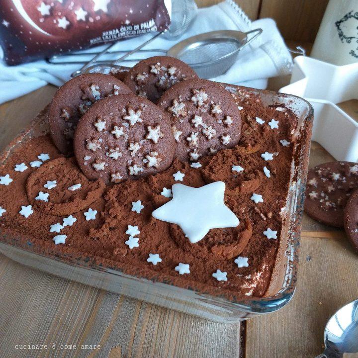 dolce tiramisu' con biscotti pan di stelle e crema mascarpone