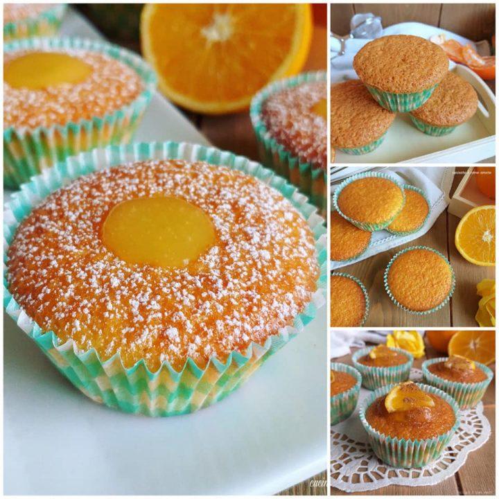 impasto tortine muffin all'arancia dolce soffice