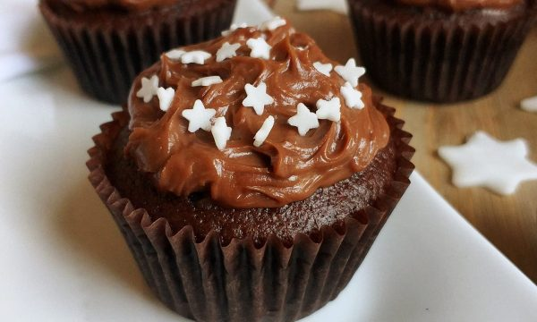 MUFFIN PAN STELLE DOLCE tortina impasto al cacao