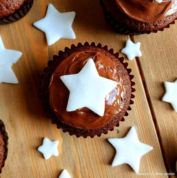 muffin tortina delizia di stelle dolce impasto