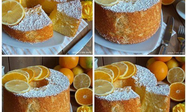 TORTA CIAMBELLA AGLI AGRUMI impasto chiffon cake