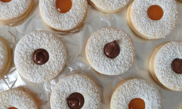 BISCOTTO OCCHIODIBUE MIX RIPIENO nutella e marmellata