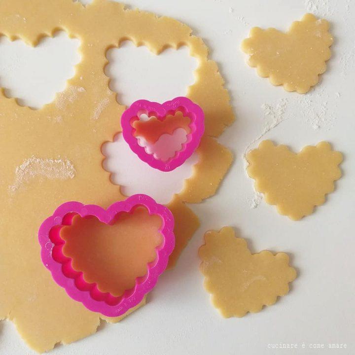 impasto biscotti san valentino pasta frolla perfetta