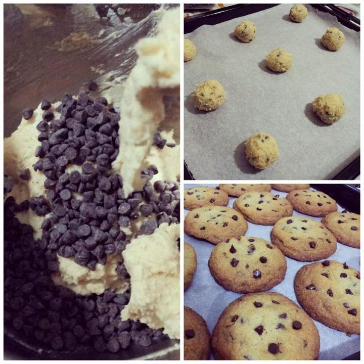 impasto dolce biscotti americani cookies