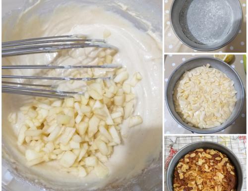 IMPASTO TORTA MELE E MANDORLA dolce facile