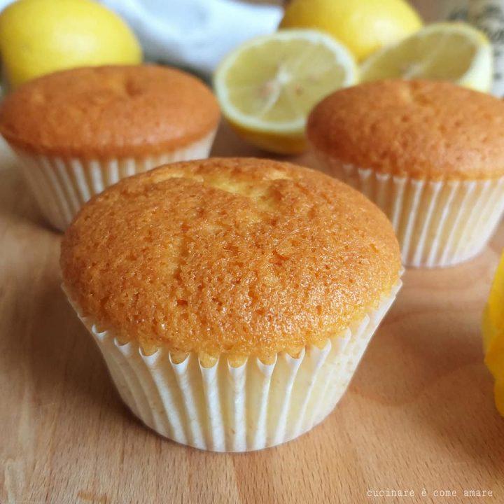 muffin tortina limone e ricotta dolce impasto