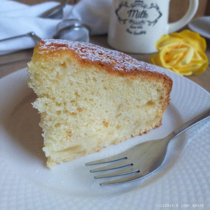 torta pan di pere dolce impasto soffice