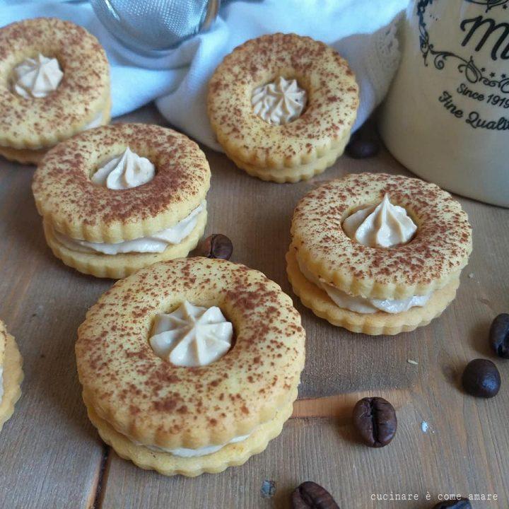 biscotto occhidibue tiramisu' dolce ripieno