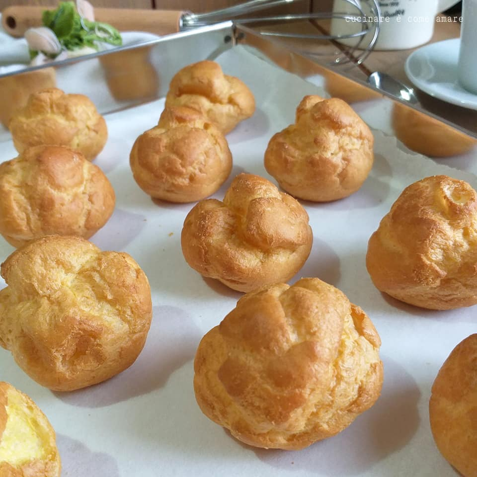Ricetta Per Bigne.Impasto Perfetto Per Bigne Dolce Pasta Choux Cucinare E Come Amare