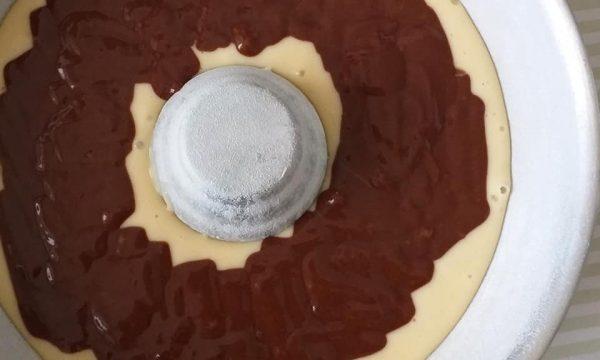 IMPASTO TORTA CIAMBELLA VARIEGATA dolce facile
