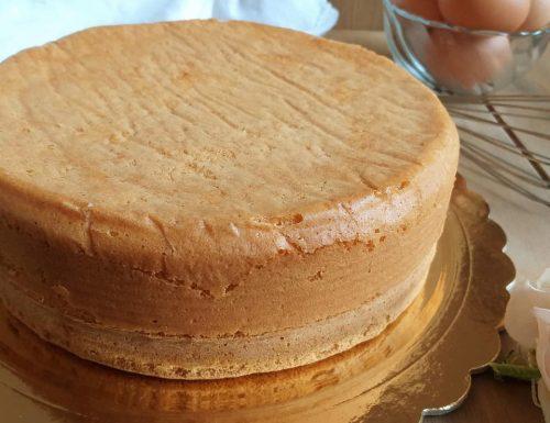 RICETTA PAN DI SPAGNA dolce torta base