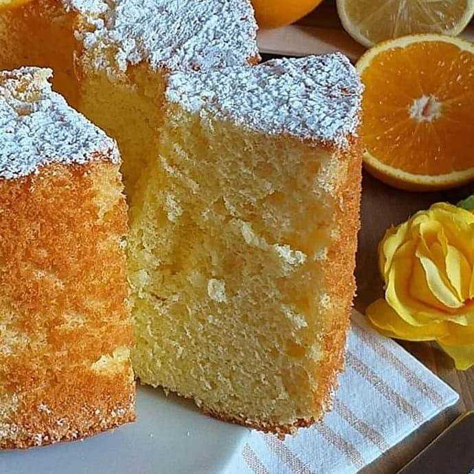 torta ciambella chiffon cake dolce soffice
