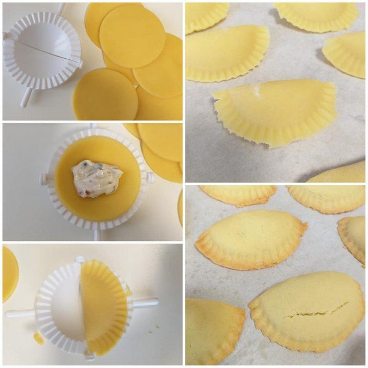 impasto biscotti ripieni di ricotta dolce facile