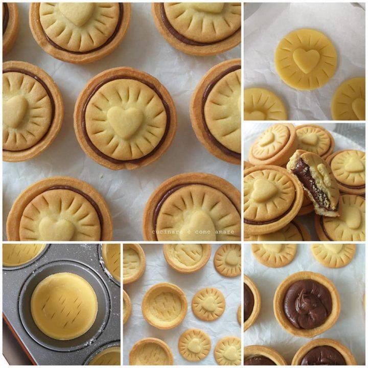 impasto passo passo biscotti nutella dolce ripieno