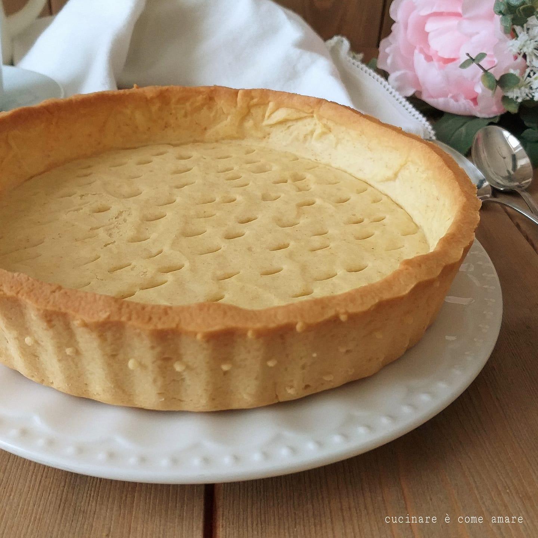 Ricetta Pasta Frolla X Crostata Di Frutta.Guscio Perfetto Per Crostata Con Crema E Frutta Dolce Ripieno Cucinare E Come Amare