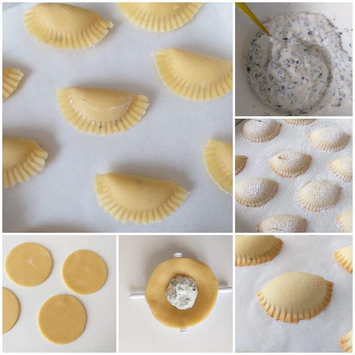 impasto biscotto cassatella al forno dolce ripieno ricotta
