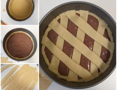 IMPASTO PASTIERA AL CIOCCOLATO dolce ricetta passo passo
