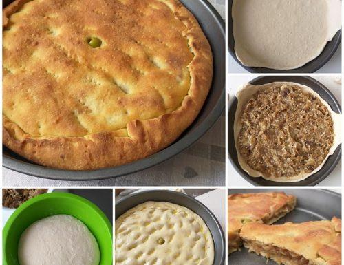 IMPASTO PIZZA RIPIENA DI CIPOLLE ricetta facile