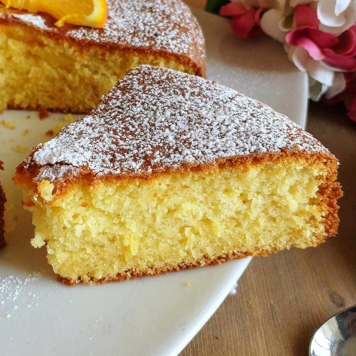 torta arancia paradiso dolce soffice