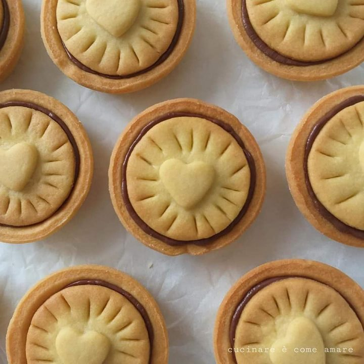 biscotto nutella goloso dolce ripieno