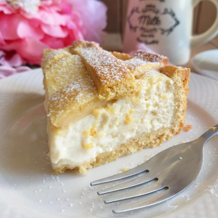crostata paradiso al mascarpone dolce ripieno cremoso