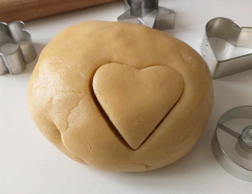 PASTA FROLLA ALL'OLIO dolce impasto per biscotti e crostate