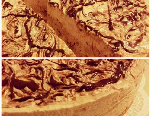 TORTA FREDDA CAFFE' E NUTELLA dolce fresco e goloso