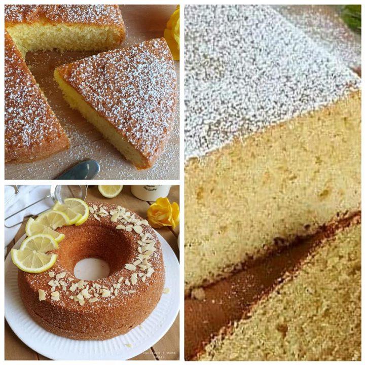 torta ciambella plumcake al limone dolce impasto unico