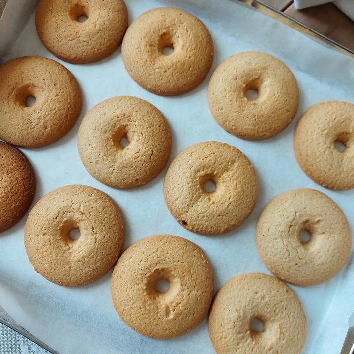 impasto biscotti ciambella da inzuppo dolce senza burro