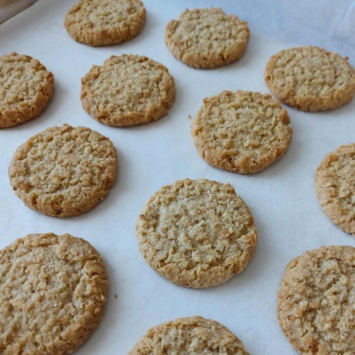 impasto biscotti colazione con mandorle ricetta facile
