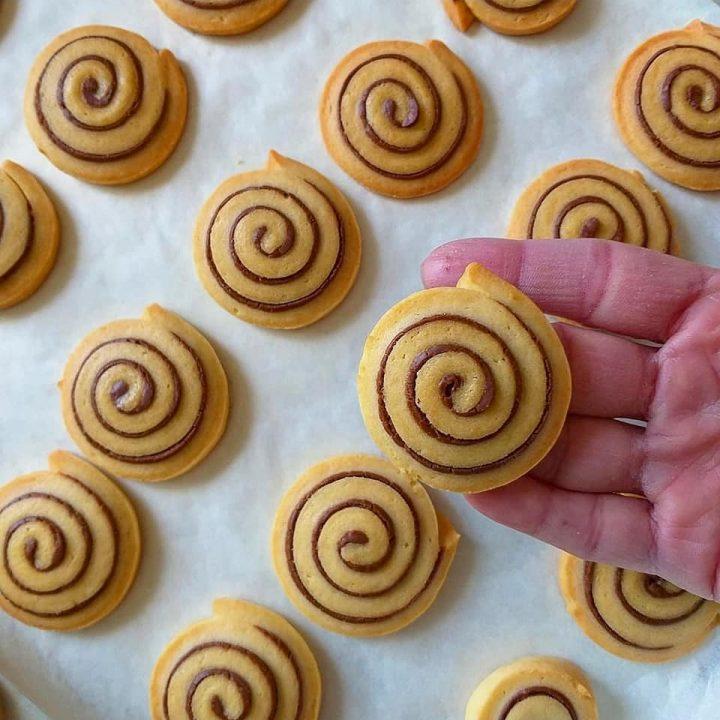 biscotti girelle alla nutella dolce ripieno