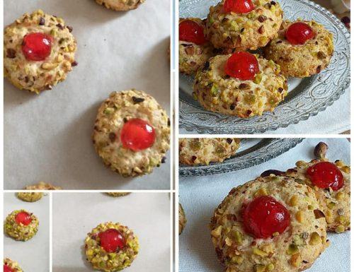BISCOTTI SICILIANI DA PASTICCERIA dolce con pistacchio