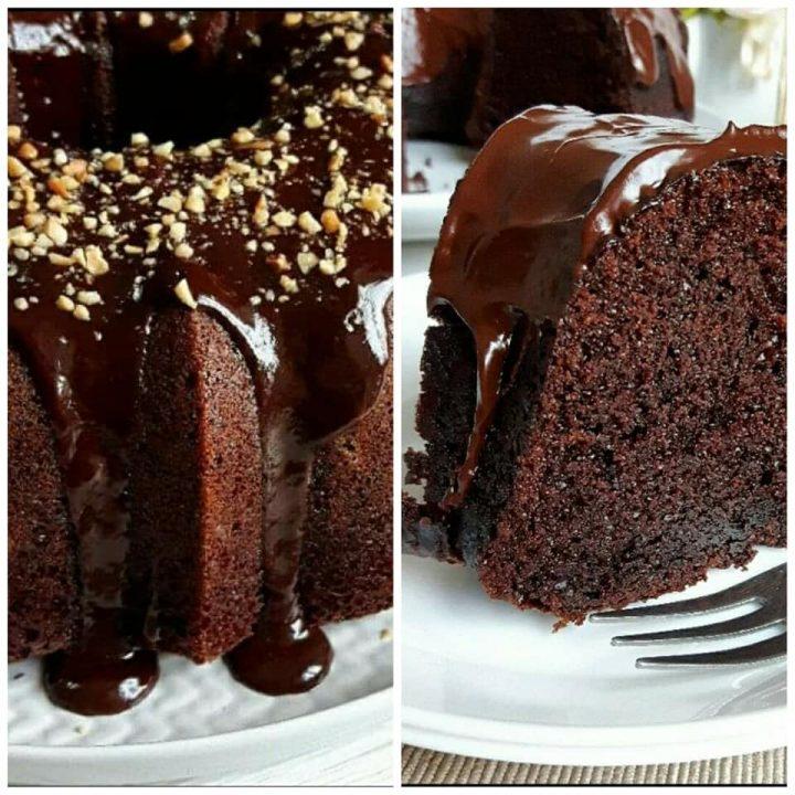 ciambella favolosa al cioccolato dolce soffice e umida