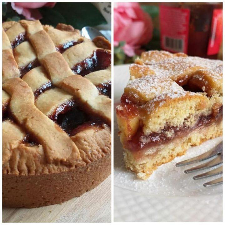 crostata casalinga con marmellata dolce ricetta della nonna