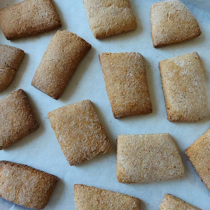 impasto biscotti maltagliati della nonna dolce da inzuppo