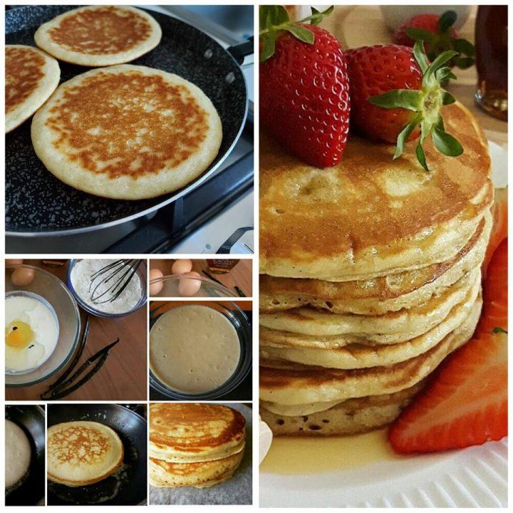 impasto perfetto per pancake dolce ricetta da colazione