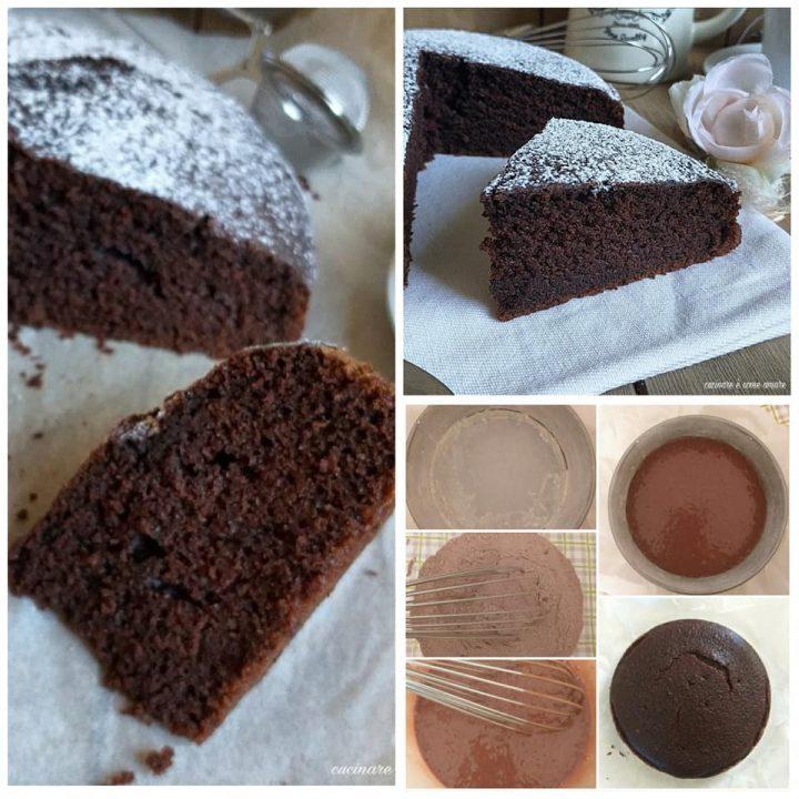 torta perfetta al cacao dolce soffice senza burro